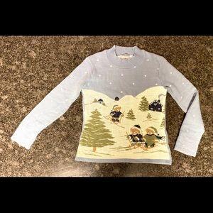 Happy Little Bears Skiing - Ugly Christmas Sweater